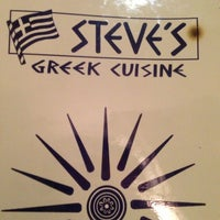 Photo taken at Steve's Greek Cuisine by Jack B. on 2/23/2013