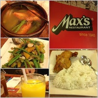 Photo taken at Max's Restaurant by JM XZKYL D. on 10/31/2012