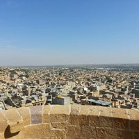 Photo taken at Jaisalmer Fort by Rati on 1/1/2013
