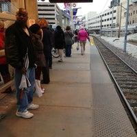 Photo taken at MetroLink - Stadium Station by Brad B. on 3/22/2013