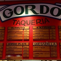 Photo taken at Gordo Taqueria by Andy C. on 9/9/2016