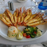 Photo taken at Baia Seafood Restaurant by Su C. on 2/11/2013