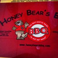 Photo taken at Honey Bear's BBQ by Thomas M. on 7/4/2013