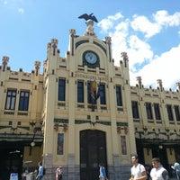 Photo taken at Valencia North Railway Station (YJV) by Amena S. on 6/19/2013
