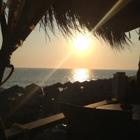 Photo taken at Anemos Beach Bar by Nikos L. on 7/27/2013