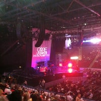 Photo taken at Maverik Center by Jace R. on 10/11/2012