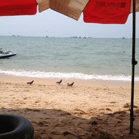 Photo taken at Pattaya Beach by S a. on 4/6/2013