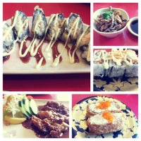 Photo taken at Sushi Kiosk! by Sushi Tei by Chandra I. on 11/5/2013