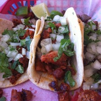 Photo taken at Tia Cori's Tacos by Amy on 4/15/2013