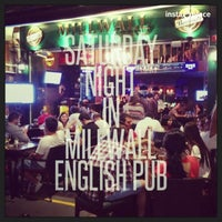 Photo taken at Millwall English Pub by Arcan K. on 8/17/2013