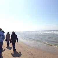 Photo taken at Strand Noordwijk aan Zee by Rahul on 4/21/2013