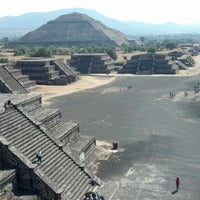 Photo taken at Zona Arqueológica de Teotihuacán by Abby H. on 1/28/2013