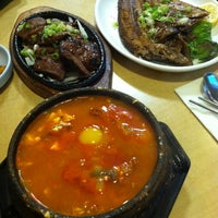 Photo taken at Convoy Tofu House by Jason L. on 4/12/2014