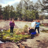 Photo taken at Arabia Mountain Trail by Ansley B. on 3/23/2013