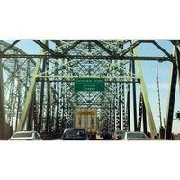Photo taken at Interstate Bridge by David D. on 5/12/2013