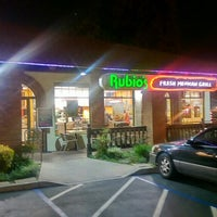 Photo taken at Rubio's by Comic-Con G. on 3/2/2016