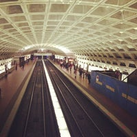 Photo taken at Metro Center Metro Station by Zachariah H. on 3/23/2013