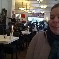 Photo taken at Theodor's Cafe & Restaurant by Ditte l. on 2/17/2013