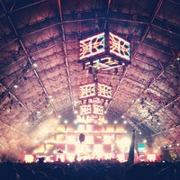 Photo taken at Coachella Sahara Tent by Belle N. on 4/13/2013