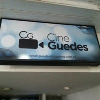 Photo taken at Cine Guedes by Taciano S. on 1/10/2013