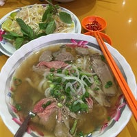 Photo taken at Bún bò Huế by BeAM P. on 3/24/2015