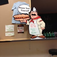 Photo taken at Pudge's Steaks and Hoagies by Geri C. on 10/24/2013