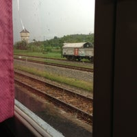 Photo taken at Stasiun Prupuk by lily, j. on 7/3/2013