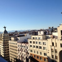 Photo taken at Hotel Emperador Madrid by PilarB on 5/11/2013