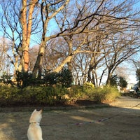 Photo taken at 塚山公園 by Kumiko H. on 3/7/2014
