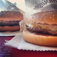 Photo taken at Burgerland by Zoltán N. on 6/12/2013