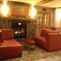 Photo taken at Marriott Mont Tremblant by Marcella A. on 11/5/2012