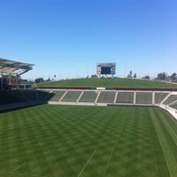 Photo taken at StubHub Center by Sean C. on 4/10/2013