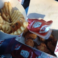 Photo taken at Chick-fil-A The Waterfront by Brianna A. on 1/13/2014