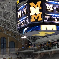 Photo taken at Yost Ice Arena by Jason H. on 3/3/2013