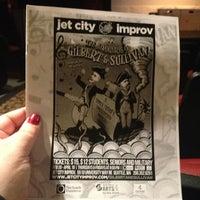 Photo taken at Jet City Improv by jodijodijodi on 3/16/2013