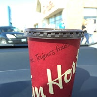 Photo taken at Tim Hortons by elle_fab on 9/27/2015