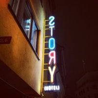 Photo taken at Story Hotel by Omar B. on 11/25/2012