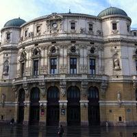 Photo taken at Teatro Arriaga by Marta R. on 10/13/2012