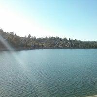 Photo taken at Silver Lake Reservoir by Kim C. on 4/22/2013