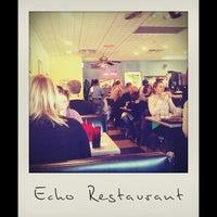 Photo taken at Echo Restaurant by Jacob J. on 2/23/2013