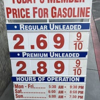 Photo taken at Costco Gasoline by Andrew on 10/18/2015