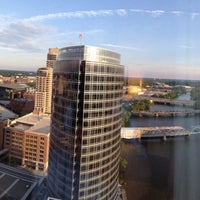 Photo taken at Amway Grand Plaza Hotel by Ben J. on 6/16/2013