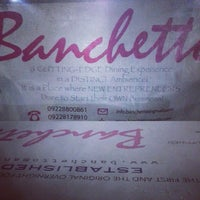 Photo taken at Banchetto by ⓙⓐⓨⓒⓨ on 8/23/2013