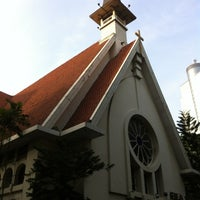 Photo taken at Gereja Santa Theresia by Ben M. on 12/2/2012