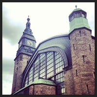 Photo taken at Hamburg Central Station by David H. on 5/17/2013