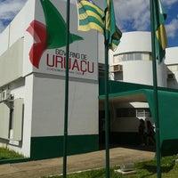 Photo taken at Prefeitura Municipal de Uruaçu by Marcos Antonio d. on 2/28/2014