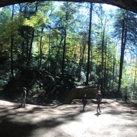 Photo taken at Ash Cave by Leslie H. on 10/11/2015