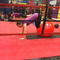 Photo taken at Shakehouse Boxing by Sammie M. on 9/9/2015