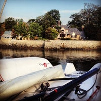 Photo taken at Larchmont Yacht Club by Sloane B. on 10/6/2012