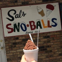 Photo taken at Sal's Sno-Ball Stand by Rebecca S. on 6/21/2015